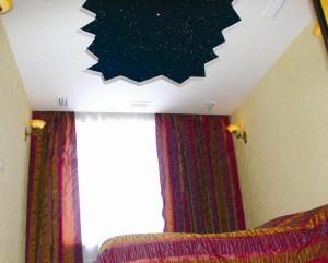 Замшевые натяжные потолки в вашем доме