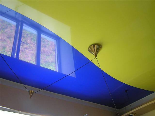 Как выбрать цвет натяжного потолка?