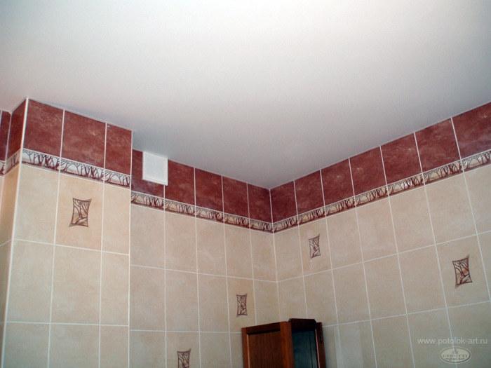 Можно ли устанавливать тканевые потолки в ванную комнату?