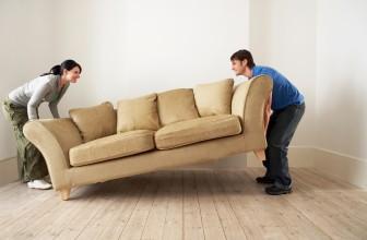 Нужно ли выносить мебель при установке натяжного потолка?