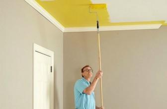 Можно ли красить натяжные потолки?