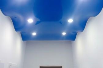 Натяжной потолок волной — применение и монтаж